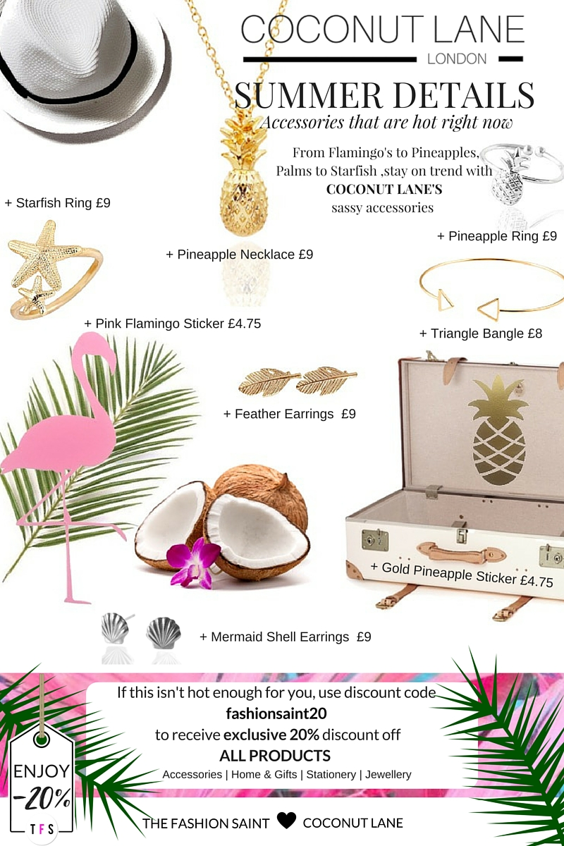 Coconut Lane Summer Details